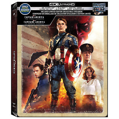 Captain America: The First Avenger [SteelBook] [4K+Blu-ray+Digital] PRE-ORDER!!!