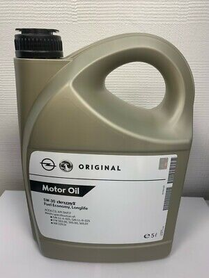 Genuine GM Vauxhall VW Mercedes Fully Synthetic 5w30 Engine Oil 5L Dexos 2 C3