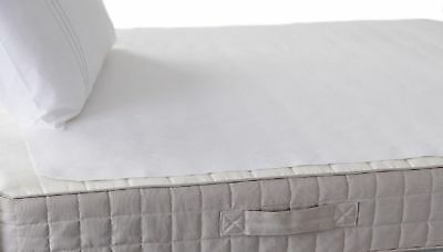 Hippychick - Flat Sheet Mattress Protector - Tencel - Breathable & Waterproof