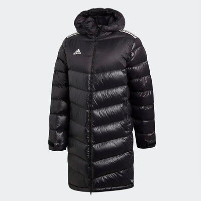 f12b5c5225306 New Adidas Mens TANGO LONG DUCK DOWN JACKET BLACK CZ3972 PARKA S - 2XL TAKSE
