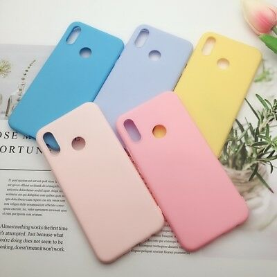 Candy Color Matte Skin Silicone Soft TPU Case Cover For Xiaomi Mi A1 A2 Lite S2