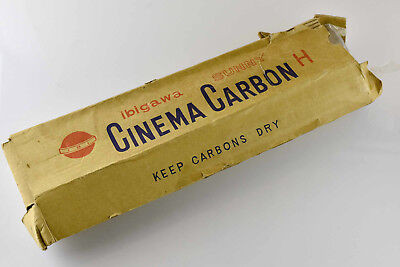 Cinema Carbons Carbon Arc Projector Rods - Sunny Ibigawa