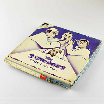 Super 8 Movie Calling All Curs  - 3 Stooges