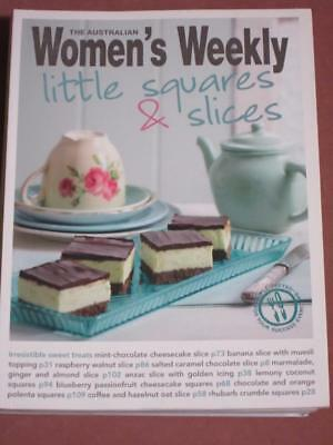 Australian Womens Weekly Cookbook  Recipes Little Squares And Slices Cakes