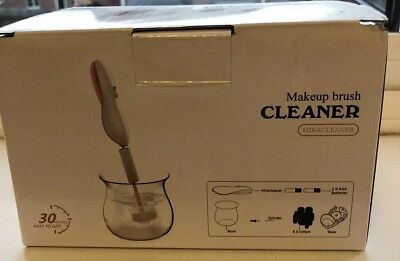 MIRACLEANER Make up brush cleaner cleaning machine - battery operated, in box