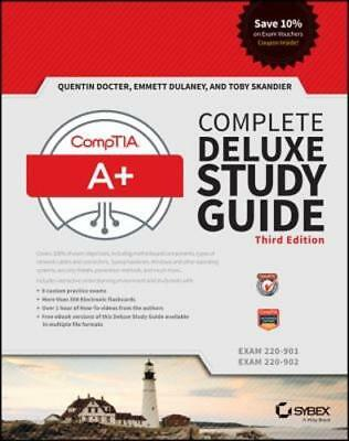 Comptia A+ Complete Deluxe Study Guide: Exams 220-901 and 220-902 by Docter