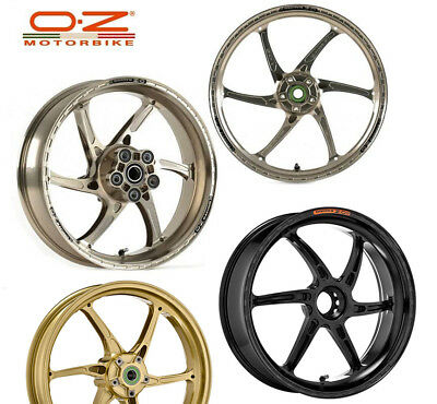 OZ Racing GASS RS-A Aluminum Rims Wheels Set Ducati Superbikes 1098 1198 R/S 848