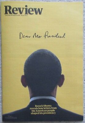 Barack Obama - Miriam Toews - Guardian Review – Issue 31 – 18 August 2018