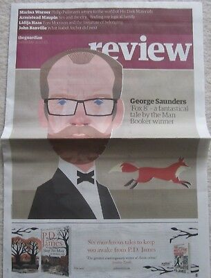 George Saunders – Guardian Review – 21 October 2017