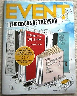 Books of the Year - Event magazine – 7 December 2014