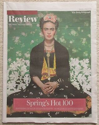 Spring's Hot 100 – Simon Pegg - Daily Telegraph Review – 31 March 2018