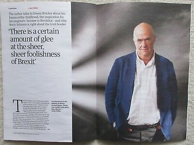 Colm Tóibín – Guardian Review –  Issue 11 – 31 March 2018