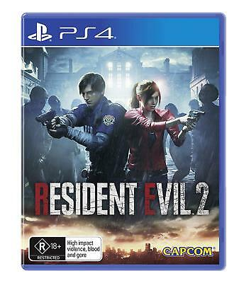 Resident Evil 2 PlayStation 4 PS4 Brand New Game