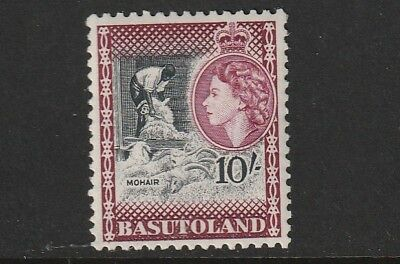 QEII BASUTOLAND 54  10/- fresh vlmm cat £40