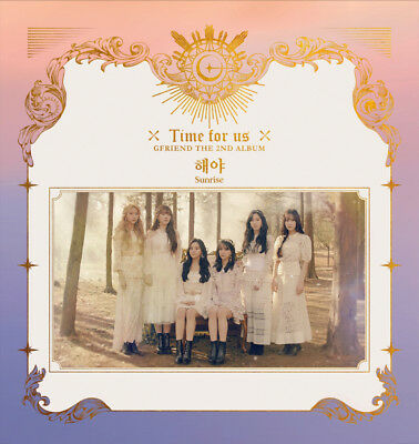 GFRIEND [TIME FOR US] 2nd Album 3Ver SET 3CD+1POSTER+3P.Book+12Card+1Pre-Order