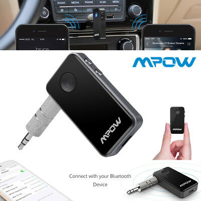Mpow Wireless Bluetooth 4.1 Receiver USB For Aux Stereo Audio Music Car Adapter