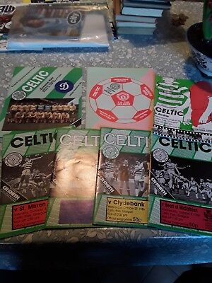 Celtic FC football Programmes