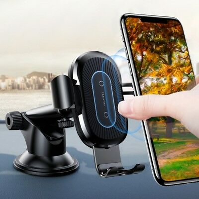 Baseus Ventosa 360° Qi Wireless Fast Charger Automatico Blocco