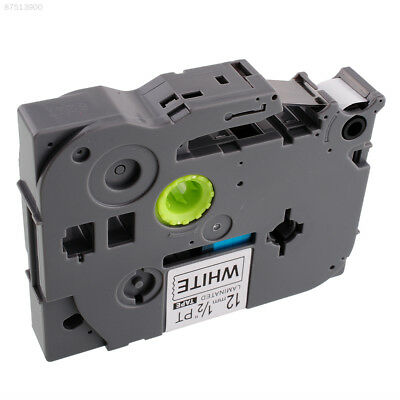 6656 1 Pack Black on White Label Tape Compatible for Brother TZ 231 12mm Ribbon