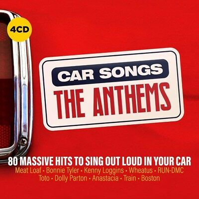 Car Songs: The Anthems - Various Artists (Box Set) [CD]