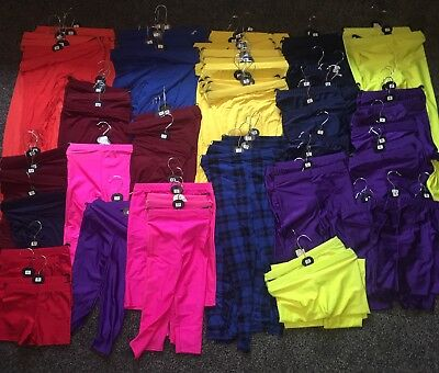 Job Lot 100 X Leggings Shorts Childrens Various Colours And Sizes Market Stall