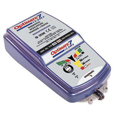 Chargeur Optimate 7 12V/10A-24V/5A Tm260