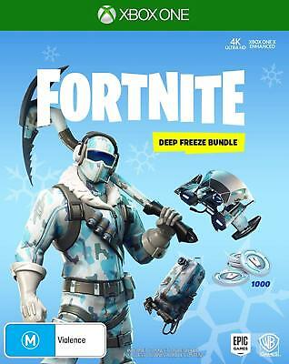 Fortnite Deep Freeze Bundle Xbox One Brand New Game