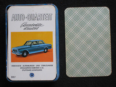 AUTO-QUARTETT, Quadrille d`autos,616F, ASS