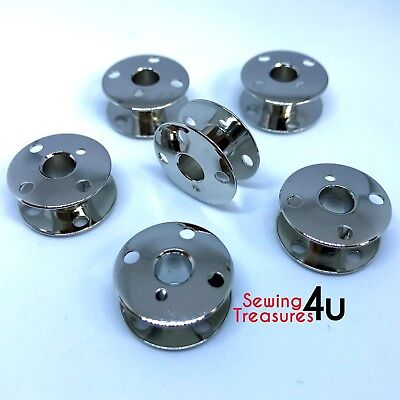 Domestic Sewing Machine Metal Bobbins Singer 66k 99k 201k 185k 400 Series