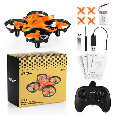 Helifar H803 Portable Mini RC Quadcopter 360 Rolling Gesture Sensing Control Toy
