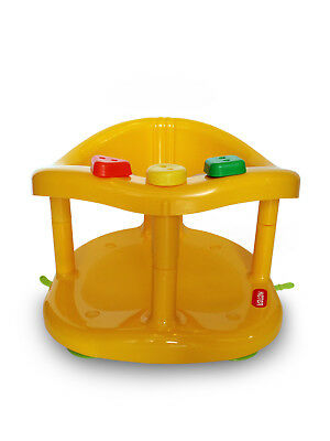 Keter Infant Baby Bath Ring Tub Seat Color Yellow Brand New Fast Shpping