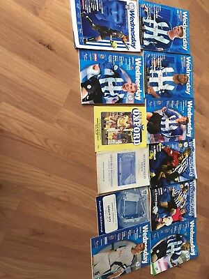sheffield wednesday football programmes