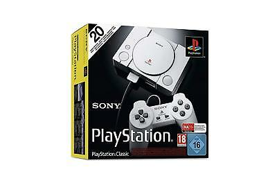 Sony PlayStation Classic Mini PS1 Console with 20 Games