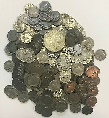 Estate Lot  **** 269 Old U.s. Coins  **** L@@k At Pictures!!!!!  #131