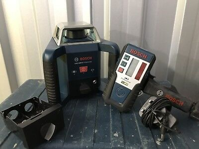 Bosch GRL 400 H Professional Horizontal Rotation Laser  With Receiver