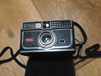 Vintage Kodak Instamatic 304 Camera in original case