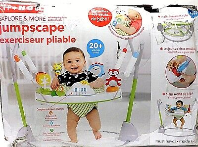 Baby Jumper Seat SKIP HOP Explore and More Jumpscape Foldaway Jumper