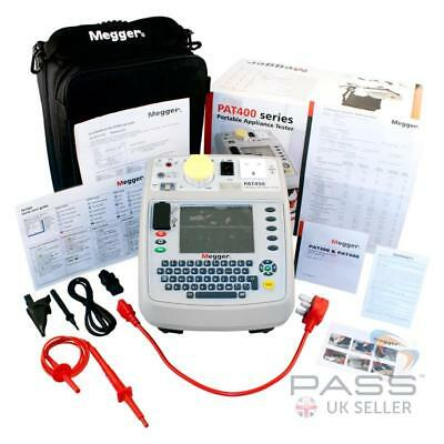 Megger PAT450 Downloadable PAT Tester with Flash Testing + Accessories & Cal