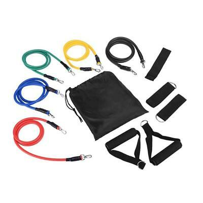 11 Pcs per Set Resistance Fitness Exercise Training Gym Elastic Band Pull Rope