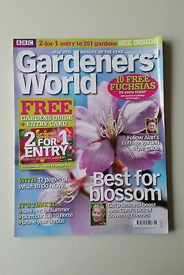 Gardeners' World May 2010 - Cherry Blossom/cottage Gardens/ 10 Must Have Herbs
