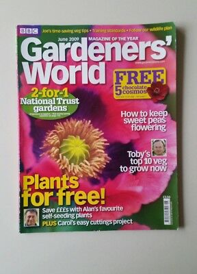 Gardeners' World June 2009 - How To Keep Sweet Peas Flowering    F6