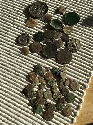 Roman Coins Grots And Other Coins Needs Research Metal  Detecting