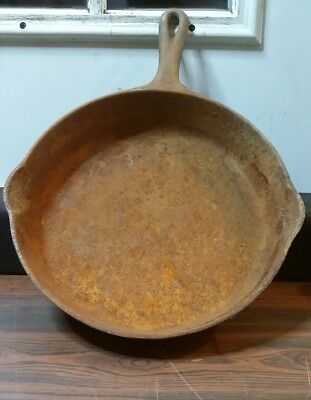 Griswold Cast Iron Skillet Number 8, D10