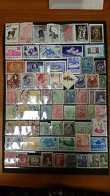 ROMANIA - Lot of 67 old stamps 4 photos 2195