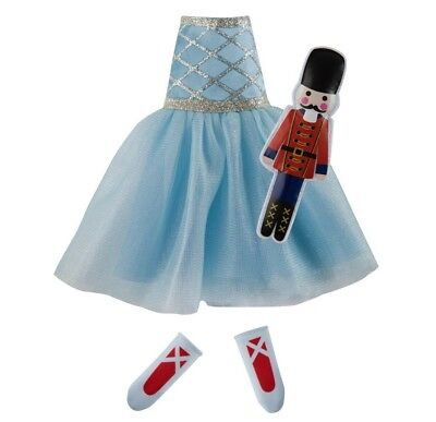 Elf on the Shelf Claus Couture Girl Snowy Sugar Plum Duo Outfit Soldier Ballet