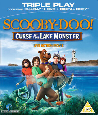 Scooby Doo - Curse Of The Lake Monster Blu-Ray + DVD