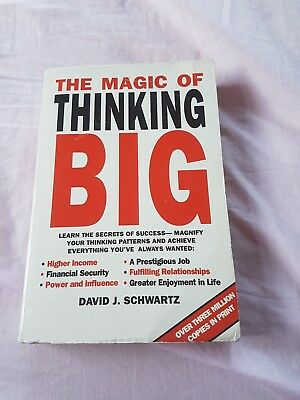 The Magic of Thinking Big by David J. Schwartz (Paperback, 1995)
