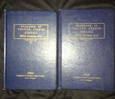 1964 And 1969 Blue Book Of US Coins 21st And 26th Editions R. S. Yeoman