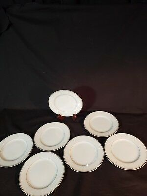 "Imperial China Dalton (7) 6 1/4"" Plates 318 Sincerity Japan"