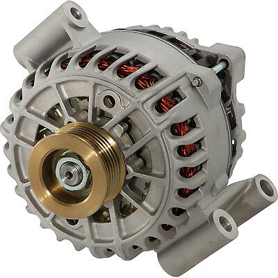 New High Output 200Amp Alternator For Ford F-450 F-550 Super Duty E-450 Van 6.0L